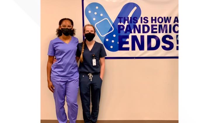'An expression of their heart to help others': Mercer University medical students help administer COVID-19 vaccines