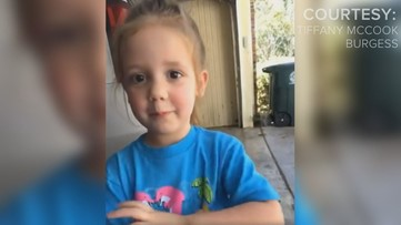 Adorable Macon 4-year-old wants you to wash your hands