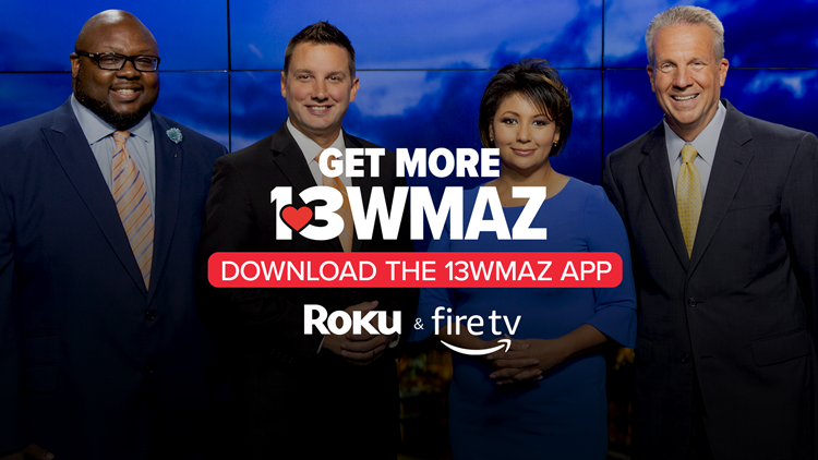 Watch 13WMAZ News on-demand