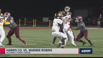 Harris County vs. Warner Robins 2019 Georgia high school football highlights (Week 8)