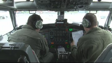 ROBINS AIR SHOW   Pilots prepare to take to the skies
