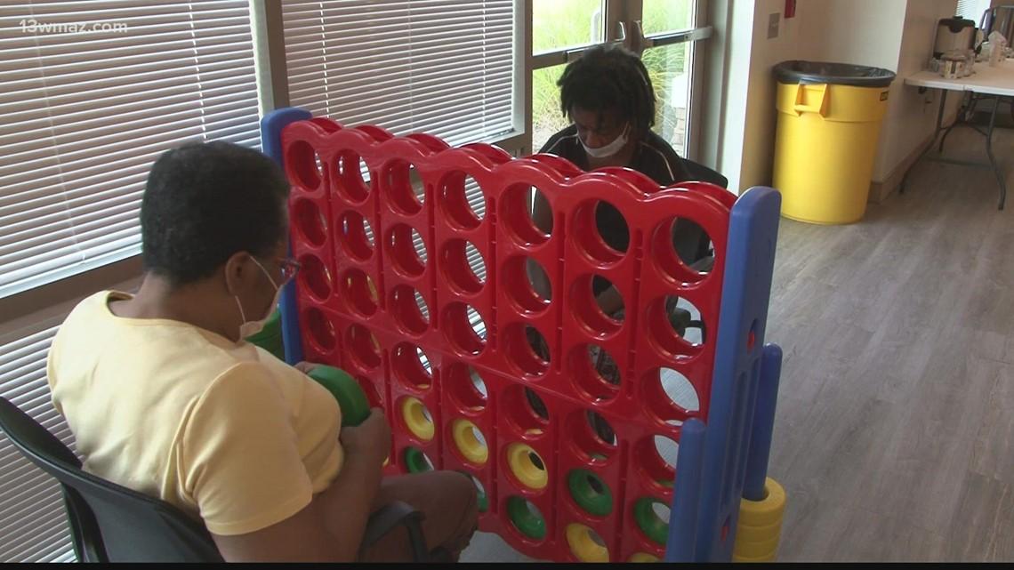 Bibb County senior citizens stay active at Elaine Lucas Senior Center