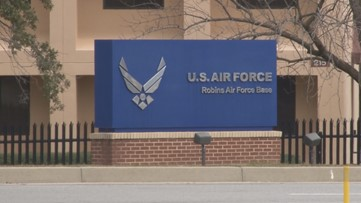 Number of confirmed COVID-19 cases rises above 10 for Robins Air Force Base