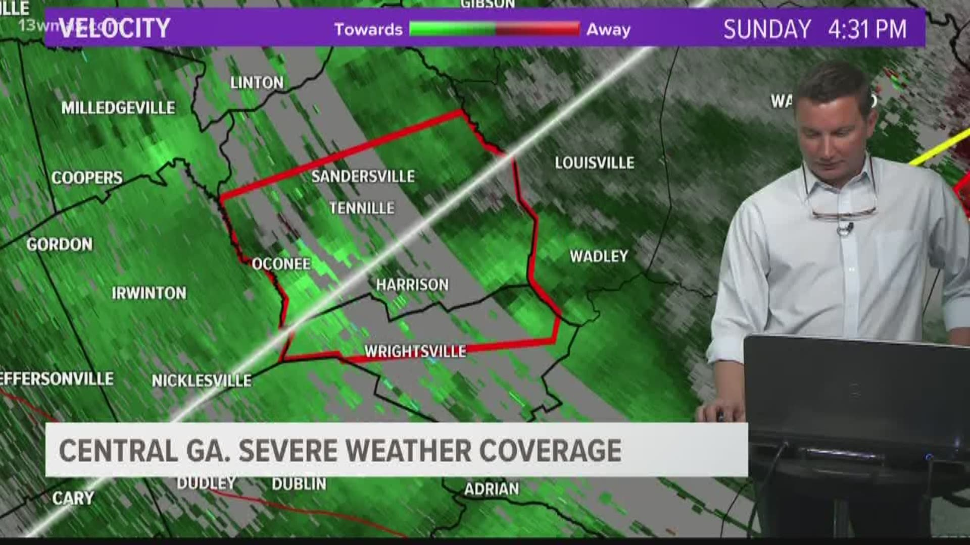 National Weather Service Radar In Jeffersonville Was Down For Weeks Before Tornadoes Hit Central Georgia 13wmaz Com