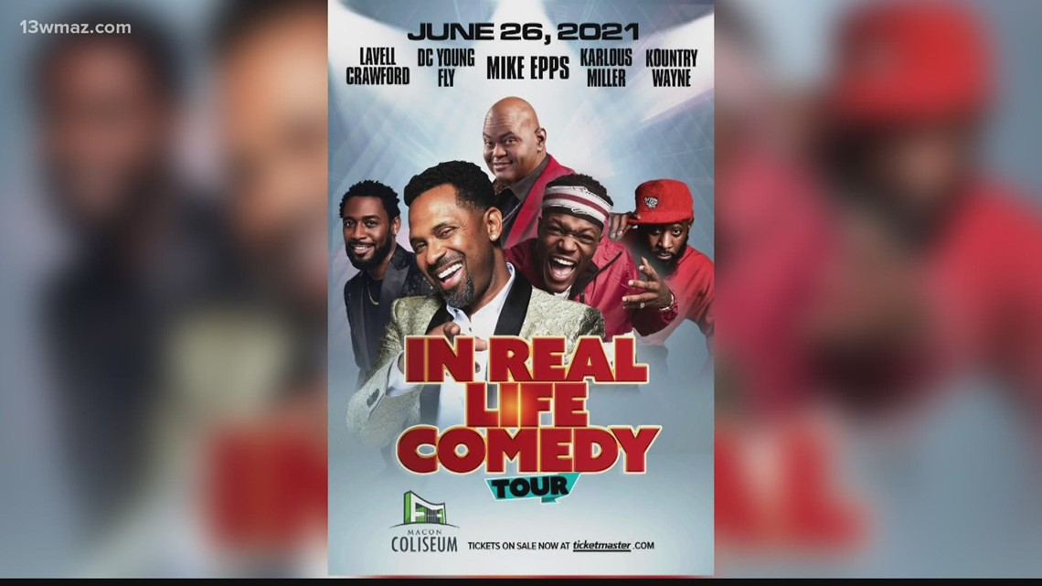 'In Real Life Comedy' Tour sets Macon stop for June