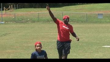 UGA's Malik Herring Hosts 'Kids Fun Day'