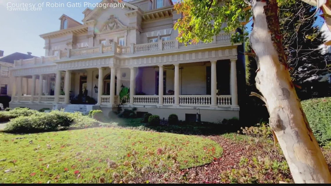 Historic Crisco House goes on the market in Macon