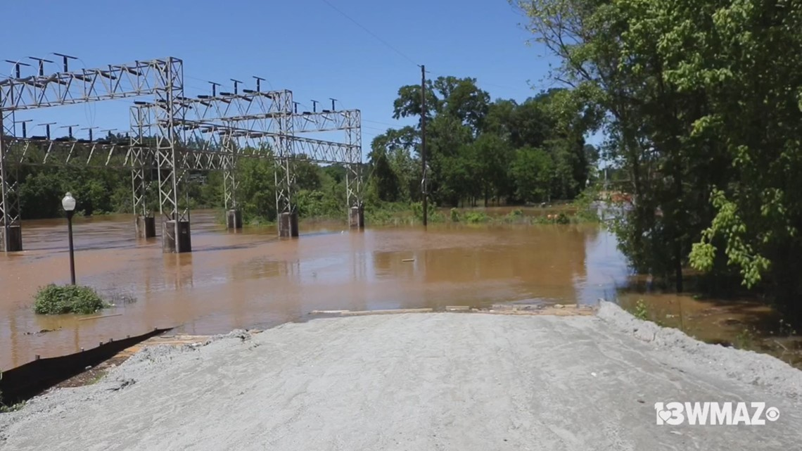Parts of Ocmulgee Heritage Trail closed due to flooding