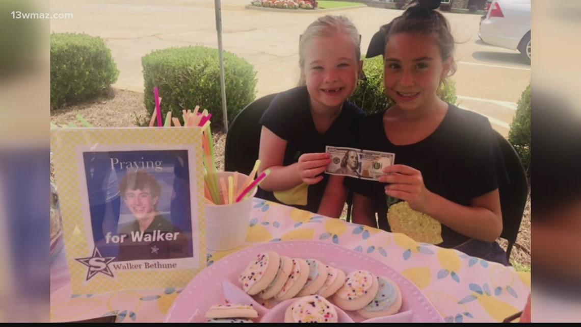 Macon girls raise money for Stratford student struck by lightning