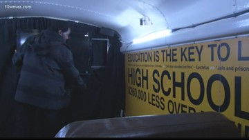 Choice Bus rolls into Hancock County