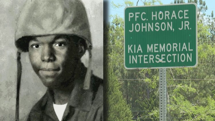 Macon-Bibb County names intersection in honor of Vietnam Marine killed in action