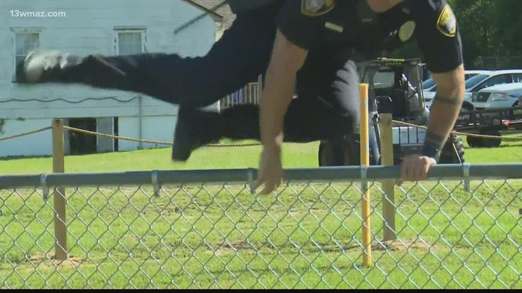 Warner Robins police build agility course to get more officers on the road
