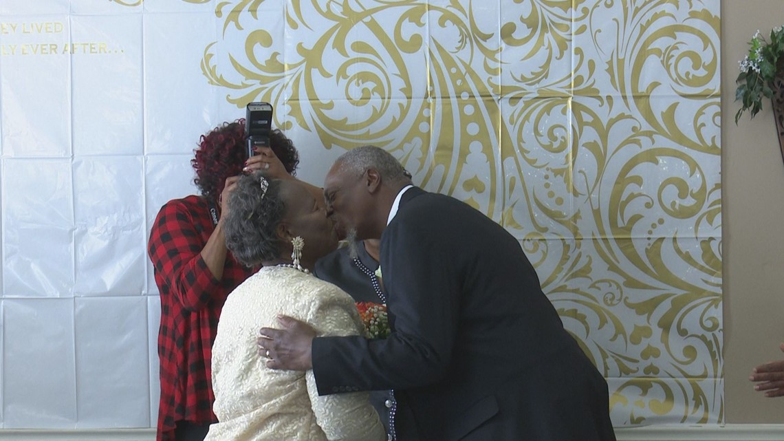 Formerly homeless Central Georgia couple marries at Loaves & Fishes shelter