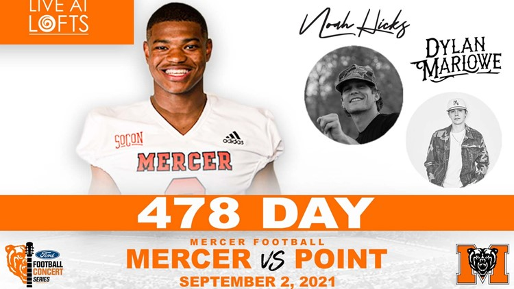 478 Day   Mercer Football gets ready to hit the field for 2021 season