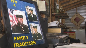 'It's a family tradition:' Jones County family has long line of military service