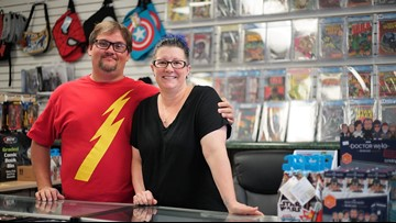New west Macon comic shop has almost 50,000 back-issue comics