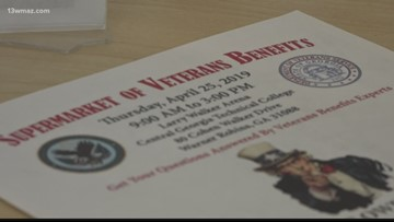 Veterans benefits supermarket setting up at Central Georgia Technical College campus Thursday