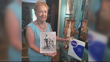 Macon woman shares late husband's work on NASA's Apollo 8 mission