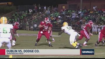 Dublin vs. Dodge County 2019 Georgia high school football highlights (Week 8)
