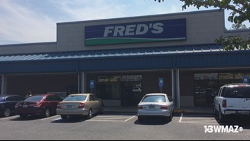 Fred's in Gray closing