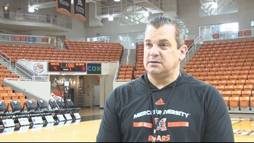 'We're going to be a physical team:' New Mercer men's basketball coach outlines his goals