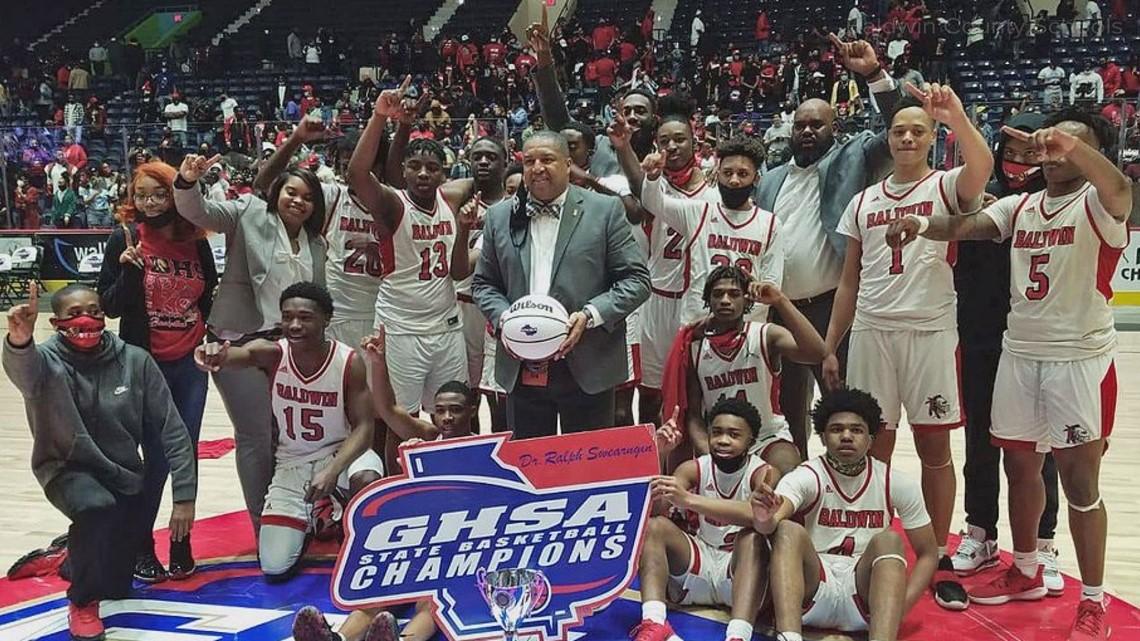 Baldwin High boys basketball team raising money for state championship rings