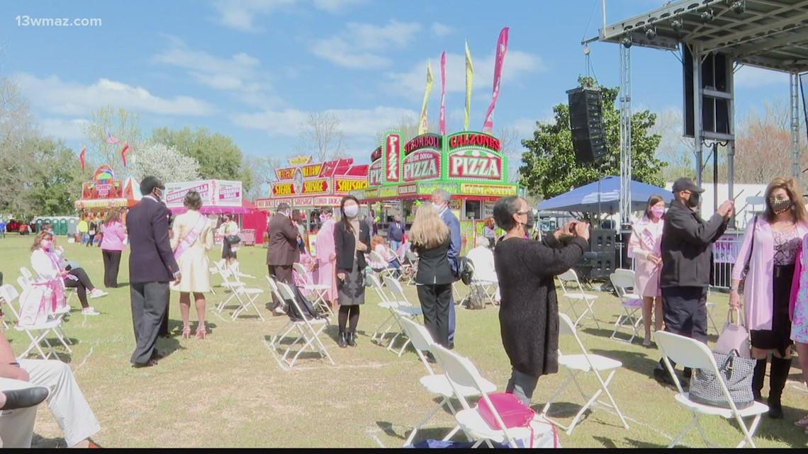 Macon kicks off 2021 Cherry Blossom Festival