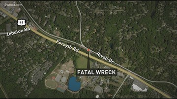Macon man killed in single-car accident