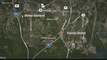 Bibb deputies searching for robbery suspect