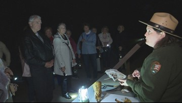 Lantern Light Tours kick off at Ocmulgee Mounds National Historic Park