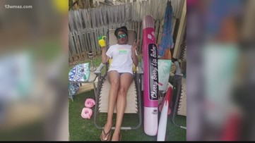 Macon couple creates 'Rona Beach' at home to recreate spring break vacation