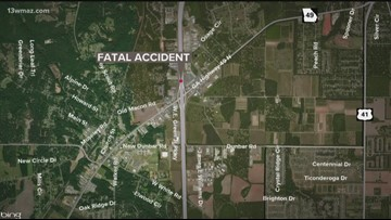 Woman dead after accident on I-75 South in Peach County