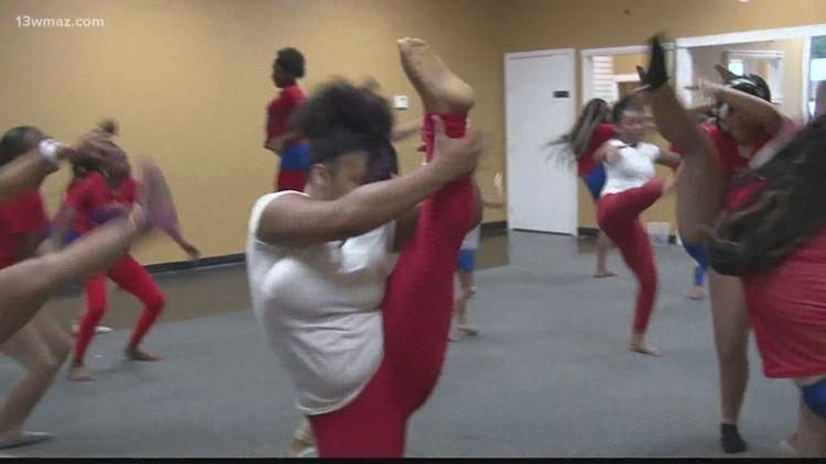 Athletes in Training: Macon's Platinum Princesses dance for sport