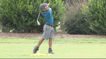 5-year-old Warner Robins golfer competes in world competition