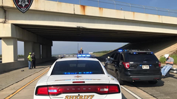 Eastbound lanes of Hartley Bridge Road over I-75 reopen after repairs