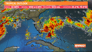 A tropical wave may increase riptide risk this weekend