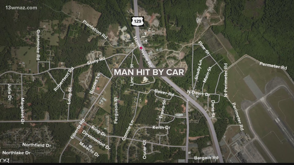 Man dies after being hit on Highway 247 in Houston County