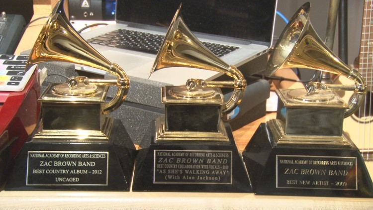 Coy Bowles of Zac Brown Band's Grammys