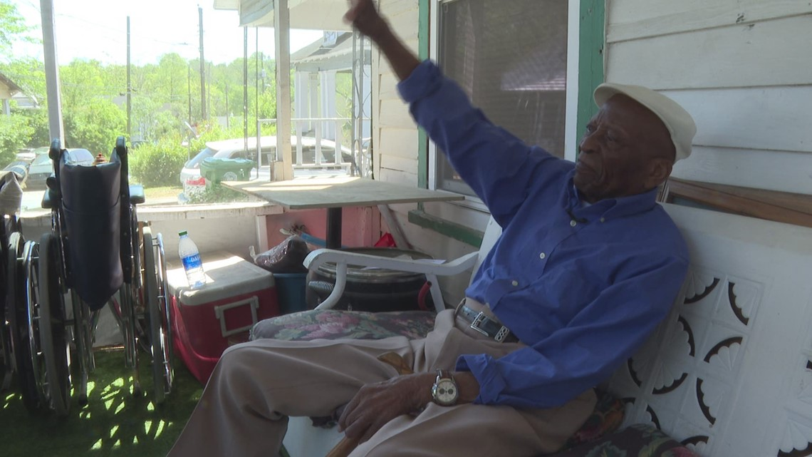 100-year-old Macon man gets proclamation: April 6 is Mr. Young 'Buddy' Barron Day