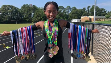 This 10-year-old triathlete from Warner Robins is nationally ranked