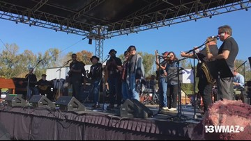 Allman Brothers tribute at Skydog Music Festival