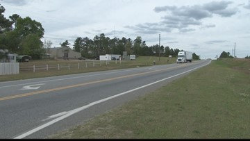 Jones County sidewalk project on Highway 49