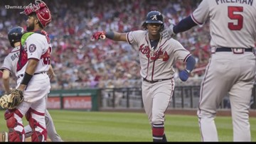 Braves' late rally steals Game Three of NLDS