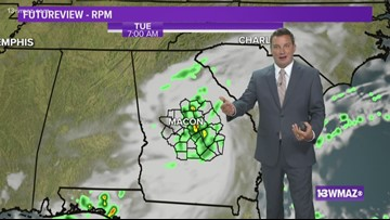 Ben's Monday Night Forecast