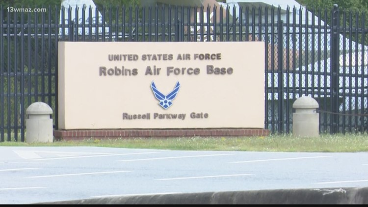 Robins Air Force Base closes Russell Parkway gate 'until further notice'