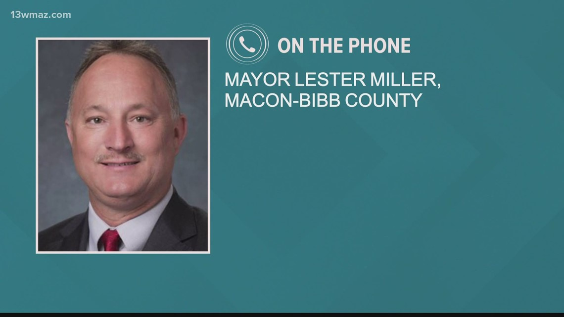 Macon Mayor Lester Miller issues executive order to slow spread of COVID-19