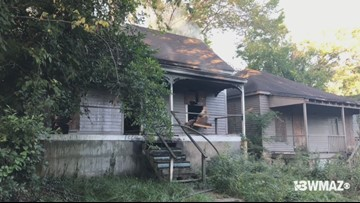 Firefighters investigating 'suspicious' fire near downtown Macon