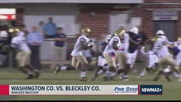 Washington County vs. Bleckley County 2019 Georgia high school football highlights (Week 8)