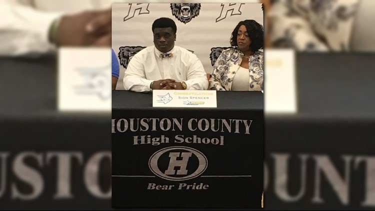 Houston County High School  Sion Spencer – Limestone College