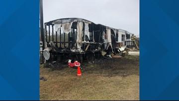 Telfair County fire destroys family's home weeks before Christmas